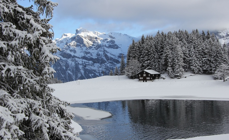 Arnisee im Winter