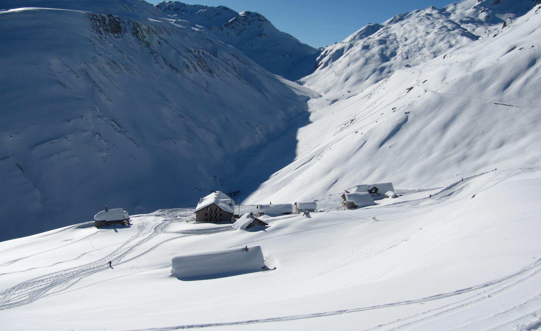 Tiefenbach im Winter