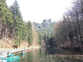 Foto Blick auf den Amselsee