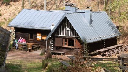 Abstieg zur Böchinger Hütte