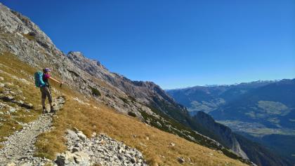 Panoramaweg zur Bettelwurfhütte