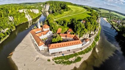 Donaudurchbruch und Kloster Weltenbur