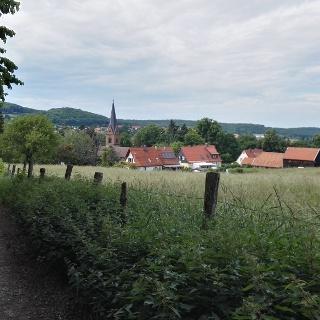 Harzer Klosterwanderweg Streckenabschnitt Drübeck - Ilsenburg