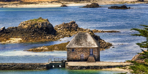 Birlot Tide Mill, Island of Brehat, Brittany