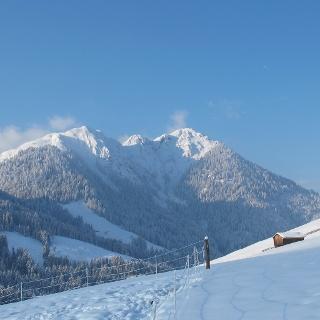 Thierbach Wildschönau Blick auf den Gradlspitz