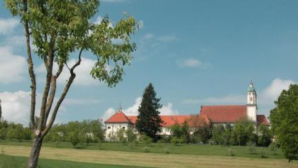 Aussicht auf das Kloster Holzen