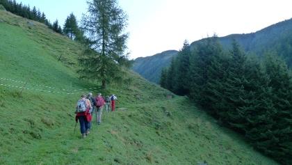 Beginn der Tour nahe dem Gasthof Trojen