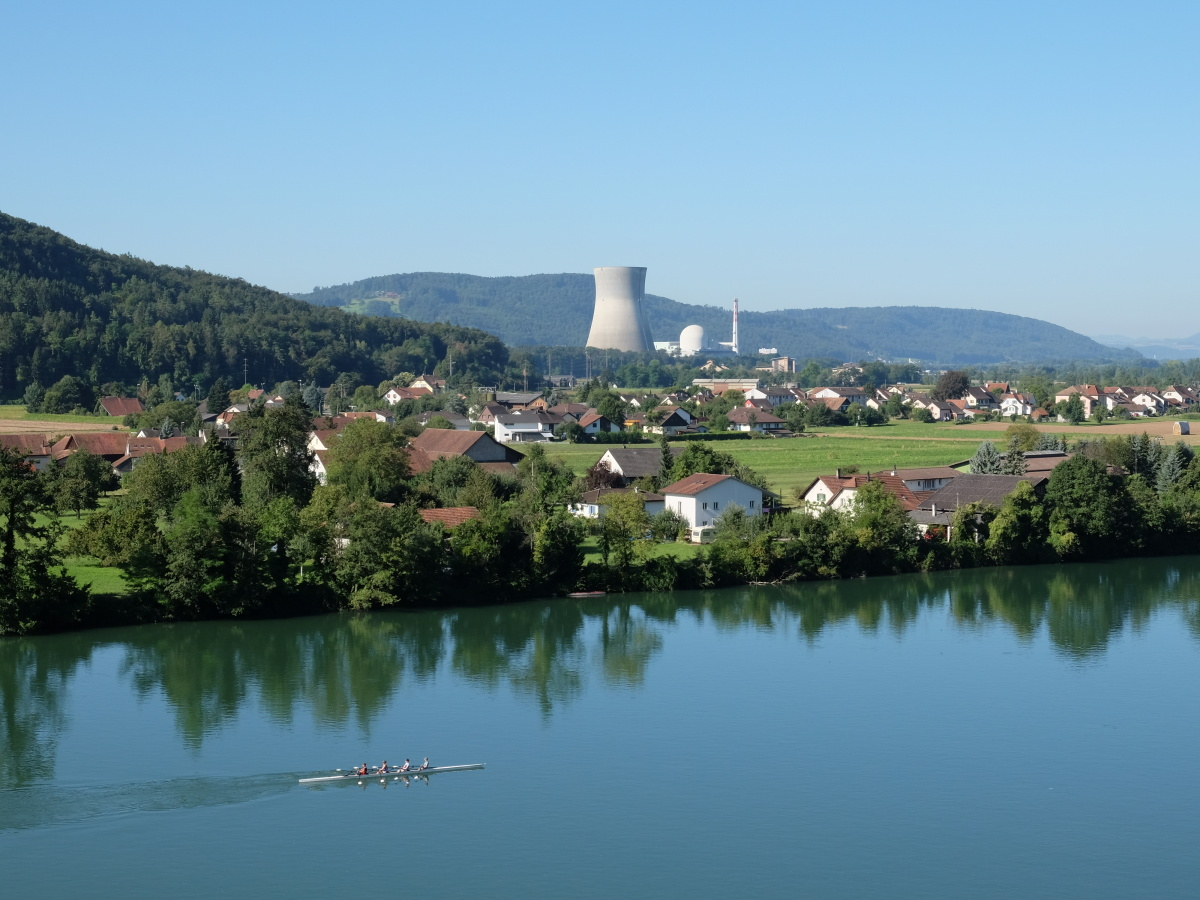 Sicherster Betriebszustand des AKW Leibstadt: in Revision