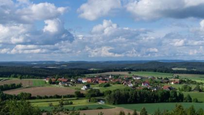 Blick vom Hirschberg bei Fuhrn. Lohnende Aussicht.