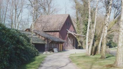 Hubertusmühle vor den Brand