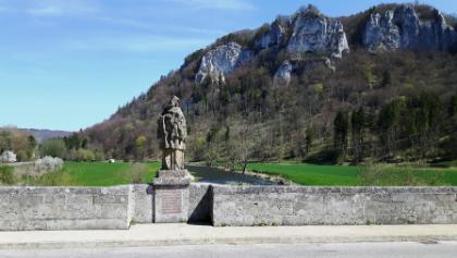 Donaubrücke in Hausen i.Tal