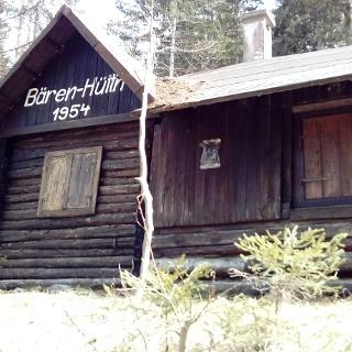 Bären-Hütte im Bärengraben, Gemeinde St. Jakob im Rosental, privat, Südwestansicht - an der Weg-Nummer 603A