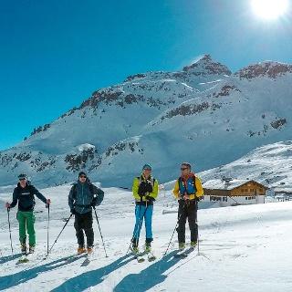Skitouren Südtirol Sesvenna Hütte