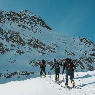 Skitouren Cevedale / Zufallhütte