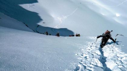 Geführte Skitour auf den Mont Blanc (4.808 m)