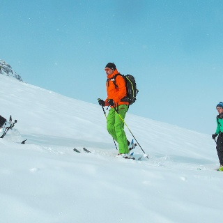 Silvester Skitouren Tuoi Hütte