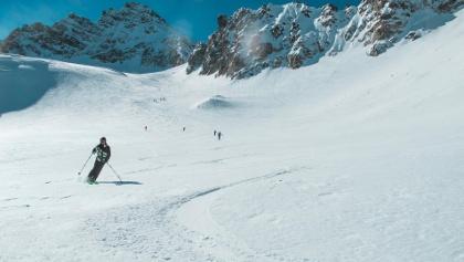Skitouren auf der Tuoi Hütte