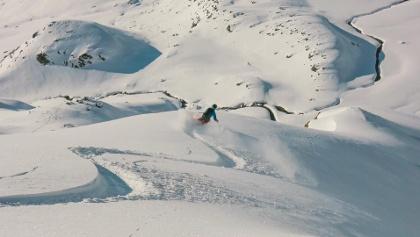 Tiefschneekurs auf dem Stubaier Gletscher