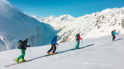 Skihochtourenkurs im Stubai mit Komfort