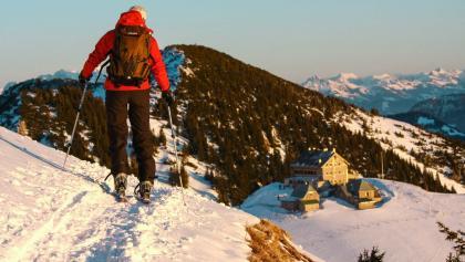 Schneeschuh-Wochenende am Spitzingsee