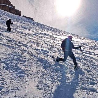 Schneeschuhtouren in der Fanes