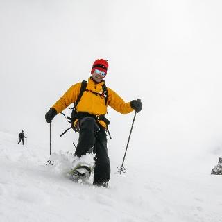 Schneeschuhwandern in Lyngen/Norwegen