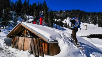 Schneeschuhwandern im Kleinwalsertal