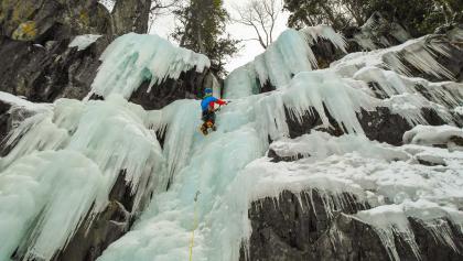 Eisklettern in Norwegen Rjukan