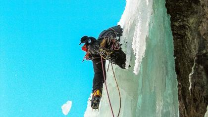 Eisklettern Extrem in Bad Gastein