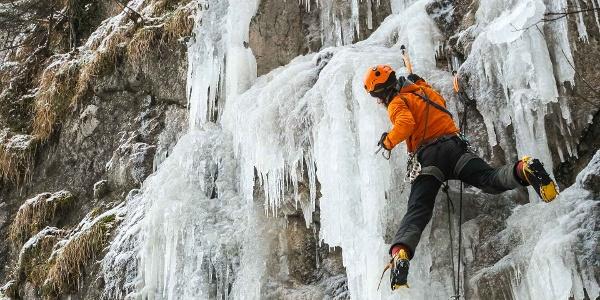 Eisklettercamp Dolomiten