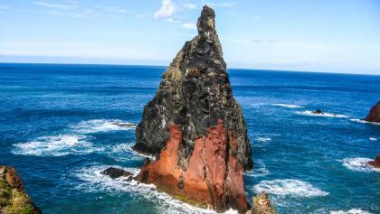 Insel Wandern auf der Blumeninsel Madeira