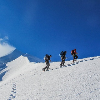 Bergsteigertraum Piz Palü - Im Festsaal der Alpen