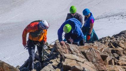Top of Tirol Wildspitze Besteigung