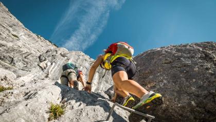 Klettersteigkurs Aufbaukurs Berchtesgaden