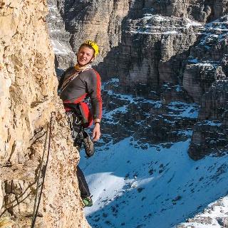Klettern in den Dolomiten