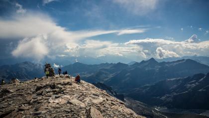 Auf dem Höhenweg rund um Zermatt