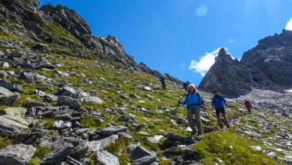 Alpenüberquerung von der Zugspitze nach Meran