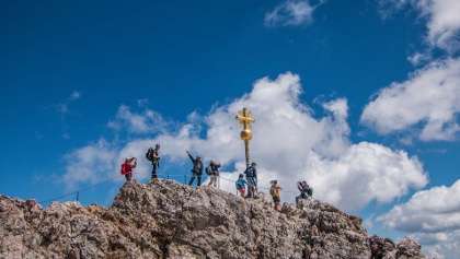 Bergwandern von Oberstdorf zur Zugspitze