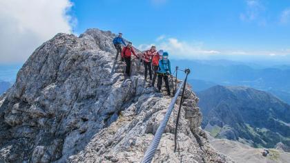 Wilde Klettersteige am Triglav in den Julischen Alpen