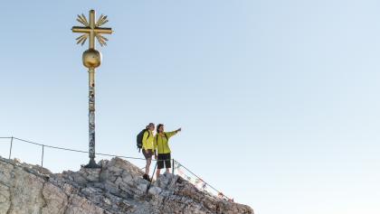Jubiläumsgrat Klettersteigset : Alpine bergtour über den jubiläumsgrat von der zugspitze zur