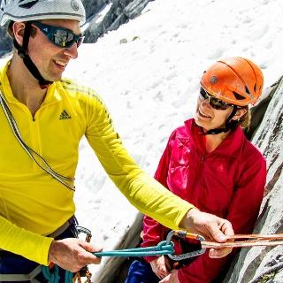 Kletterkurs zum Reinschnuppern an der Alpspitze