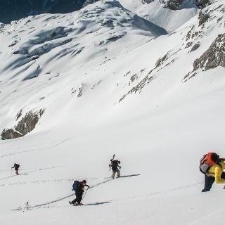 Tages Skitouren im Wetterstein