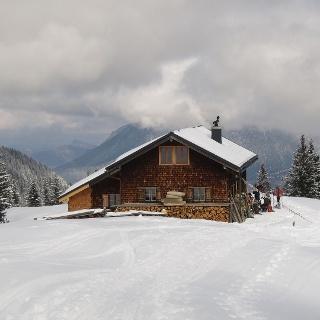 Mit Schneeschuhen auf den Stuiben bei Garmisch Partenkirchen