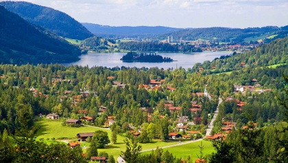 Drei-Seen-Runde Schliersee - Spitzingsee - Tegernsee