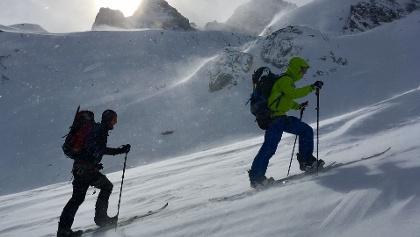 Snowboardtourenkurs Heidelberger Hütte