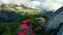 Via Alpina: Körbersee - Taufersbergalpe (day 83)