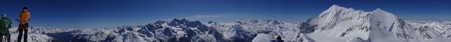 270°-Panorama Richtung N-O-S-W: ca. 13 x 4000 er