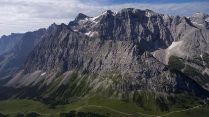 Birkkarspitze und Ödkarspitzen (von links)