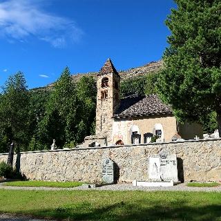 Kirche Sta. Maria in Pontresina.
