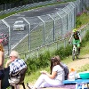 Radfahren an der Nordschleife des legendären Nürburgrings
